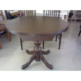 Стол К3 деревянный стол на одной ноге раздвижной