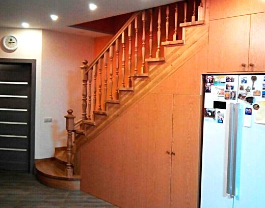 Лестницы под девево